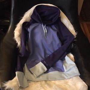 Purple Marmot Cowl Neck Sweatshirt Size M